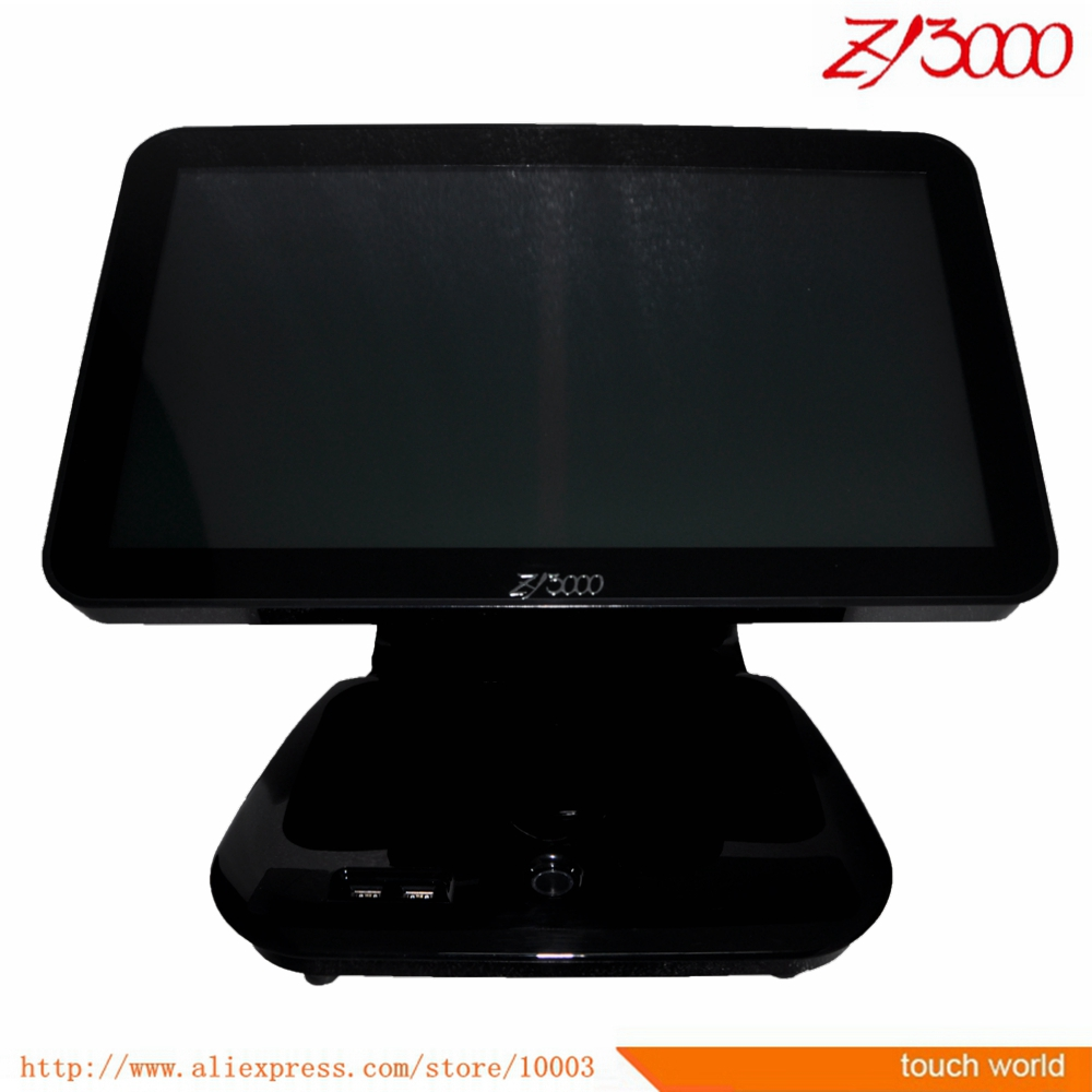 Touch Screen Cash Register All In One Windows Pos Terminal With WIFI Function