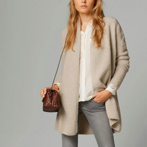 Discover our latest collection of women's Cardigans. Buy your favorite Beige Cardigans with the advantages of great deals and return guarantee. We use cookies to ensure a more effective use of the Modanisa website and our services.