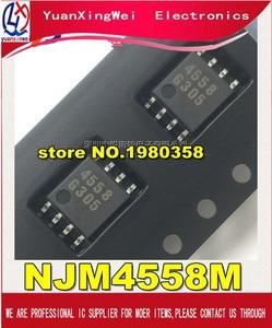 Image 1 - Free shipping  100pcs/lot New NJM4558M JRC4558M 4558 SOP 8 DUAL OPERATIONAL AMPLIFIER IC
