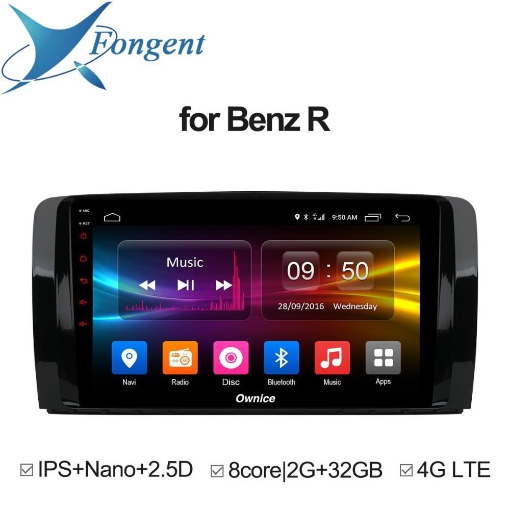 Para Mercedes Benz Classe R W251 R280 R300 R320 R350 MB Inteligente Multimedia player Do Carro Android GPS Navigator Stereo Auto rádio