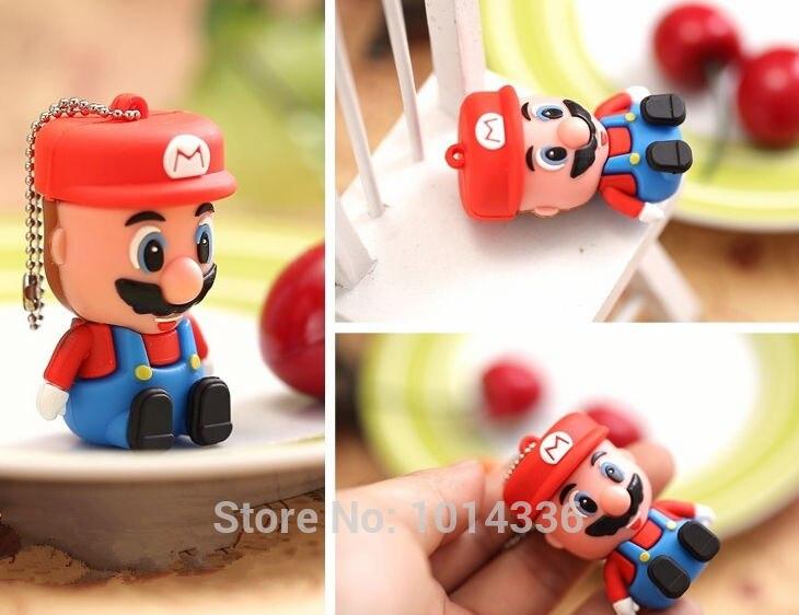 С рисунком «Супер Марио» USB Flash Drive, карты памяти Stick Thumb/ключа автомобиля/флешки и диск/креативный подарок 2 ГБ 4 ГБ 8 ГБ 16 ГБ 32 ГБ #21