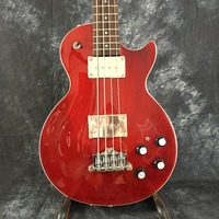 Red Custom Manufacturer 4 strings LP electric bass guitar, red hardware top quality LP bass guitar, free shipping