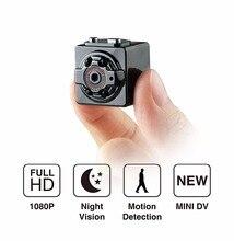 SQ8 Micro Câmera Full HD 1080 P Mini Câmera de Visão Noturna Infravermelha Sensor de Movimento Kamera Vídeo Digital Filmadora Mini DV Espion