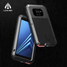 2018 Shockproof A8 Phone Case for Samsung Galaxy Plus LOVEMEI Life Waterproof Metal Full protection