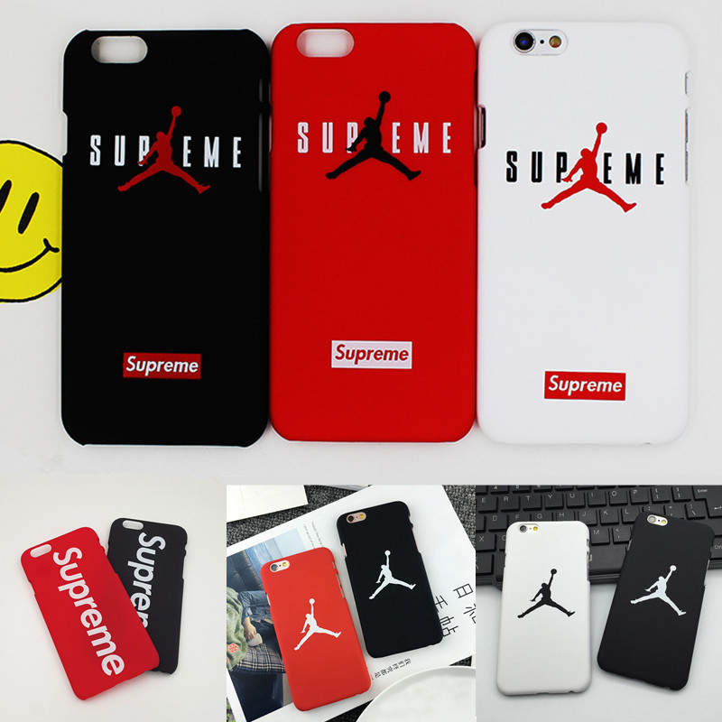 Supreme For iPhone 6 Case, Luxury Matte PC Cover For iPhone 7 7plus 5 5s se 6 6s plus Coque Fashion Brand Supreme Jordan Case