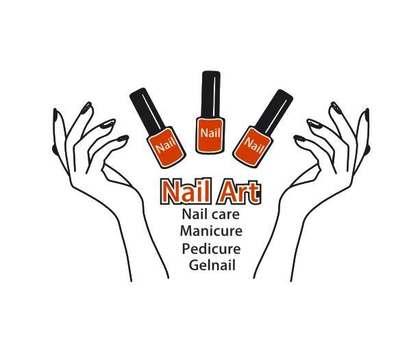 Aliexpress Com Buy Nail Polish Vinyl Wall Sticker Nail