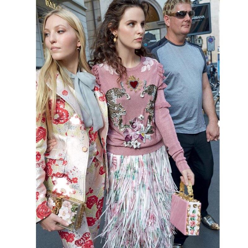 Roze Wollen Trui.Goede Koop Vrouwen 50 Wollen Trui Vlinder Lange Mouw Pollovers Roze