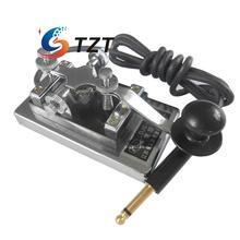 MORSE CODE TRAINER Shortwave Radio Telegraph Key CW Radio K4 Key Chamber Props