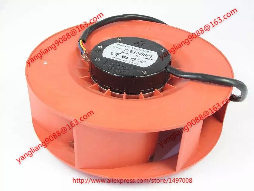 DELTA Electronics KFB1748SHT 5M79 DC 48V 1.74A 172X172X69mm 4-wire Server Cooler Fan DELTA Electronics KFB1748SHT 5M79 DC 48V 1.74A 172X172X69mm 4-wire Server Cooler Fan