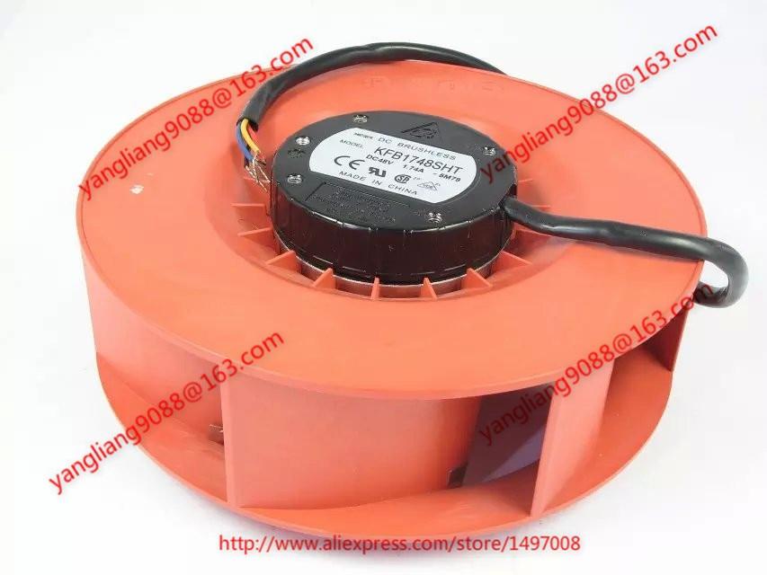 DELTA Electronics KFB1748SHT 5M79 DC 48V 1.74A 172X172X69mm Server Round fan 4-wire