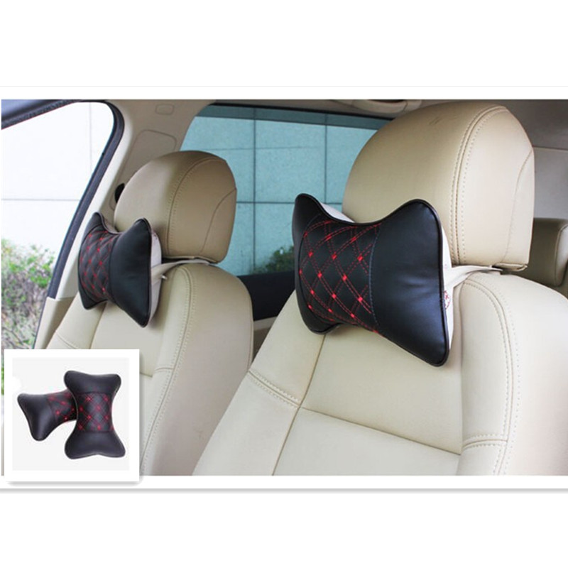 car accessories seat cover head neck rest cushion headrest pillow wine red wine headrest series. Black Bedroom Furniture Sets. Home Design Ideas