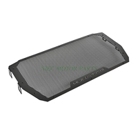 Full Black Motorcycle Radiator Grille Guard Cover Protector For Ducati Monster 821 1200 S 2014 2015