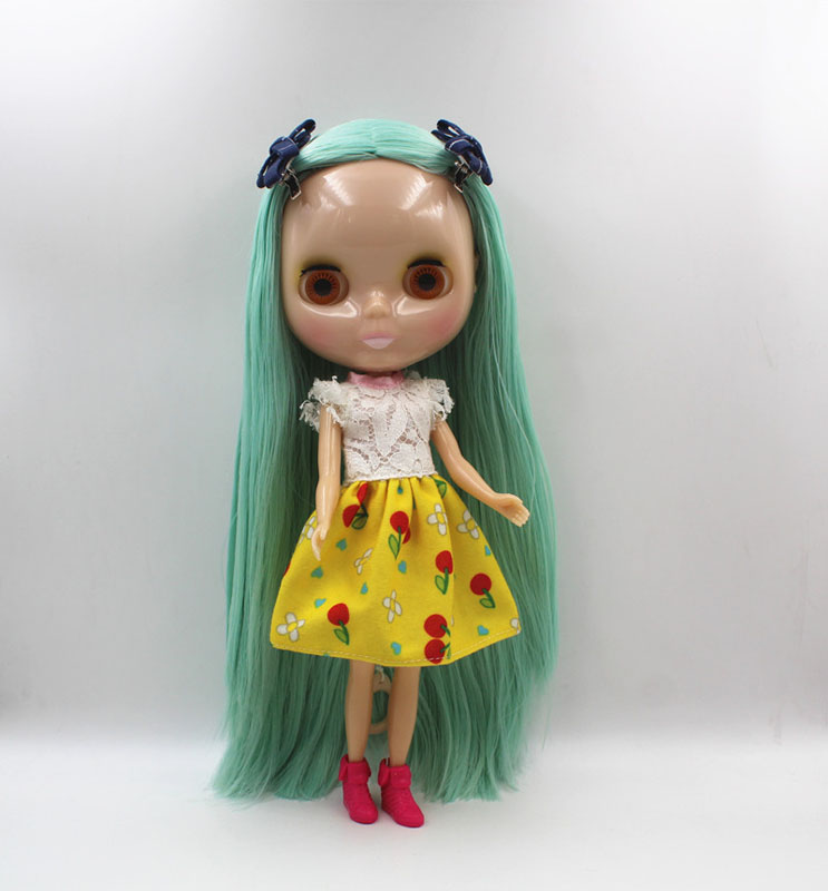 Free Shipping big discount RBL-444 DIY Nude Blyth doll birthday gift for girl 4colour big eye doll with beautiful Hair cute toyFree Shipping big discount RBL-444 DIY Nude Blyth doll birthday gift for girl 4colour big eye doll with beautiful Hair cute toy
