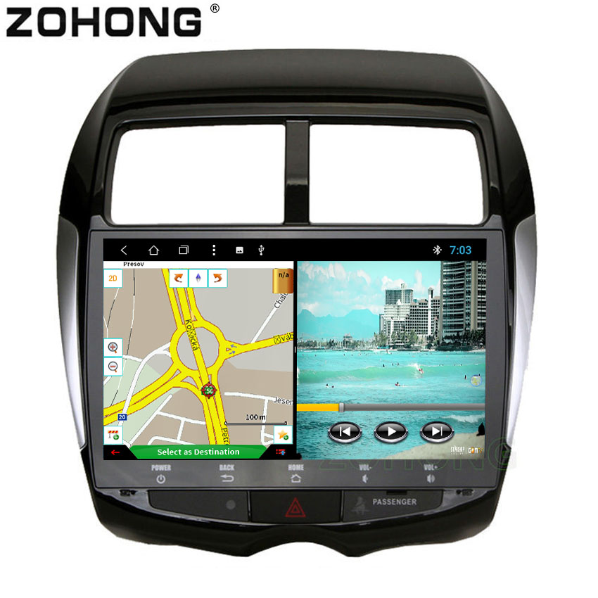 10 2 inch Android 8 1 Octa 8 Core Car DVD Player for Mitsubishi ASX 2010