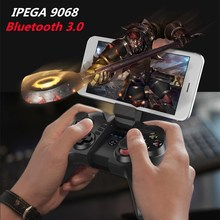 iPEGA 9068 Bluetooth 3.0 Wireless Game Pad Controller Gamepad Pro Gaming Player Joystick for Android IOS Smartphone PC TV Box