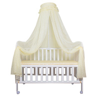 Portable Baby Crib Mosquito Nets Infant Cot Insect Netting Newborn Bed Folding Canopy Boys Girls Summer Portector