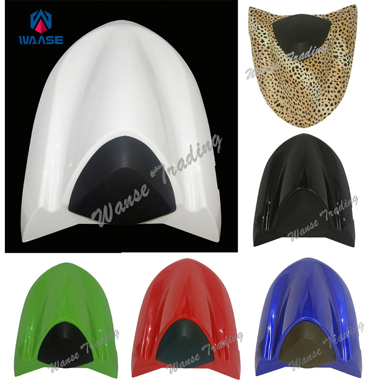Motorcycle Accessories Rear Seat Cover Tail Section Fairing Cowl 5 Colors For Kawasaki Ninja ZX-10R ZX10R 2004 2005 for 2002 2005 kawasaki ninja zx9r zx 9r motorcycle rear passenger seat cover cowl black 01 02 03 04 05
