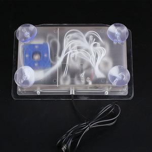 Image 5 - שקוף ברור אקריליק ארקייד ג ויסטיק USB Wired מחשב משחקי ג ויסטיק 8 כפתורים כיווניות