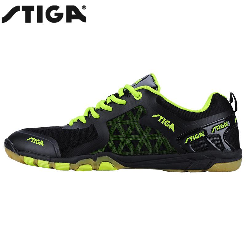 Genuine Stiga Table Tennis Shoes Sports Sneakers Mens Stability Anti-slip Zapatillas Deportivas Mujer Ping Pong Racket Shoe