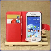 Para Samsung S7262 S7260 GT-S7262 GT 7262 Luxo Retro Carteira de Couro Caso da Tampa Da aleta Para Samsung Galaxy Star Plus S7262 Duos Pro