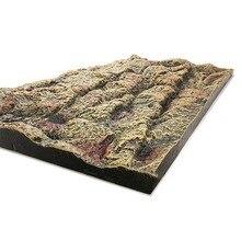 Reptile Foam Background Realistic Rock Pattern For Gecko Lizard Tortoise Tree Frog Vivarium Terrarium Aquarium Background Brown