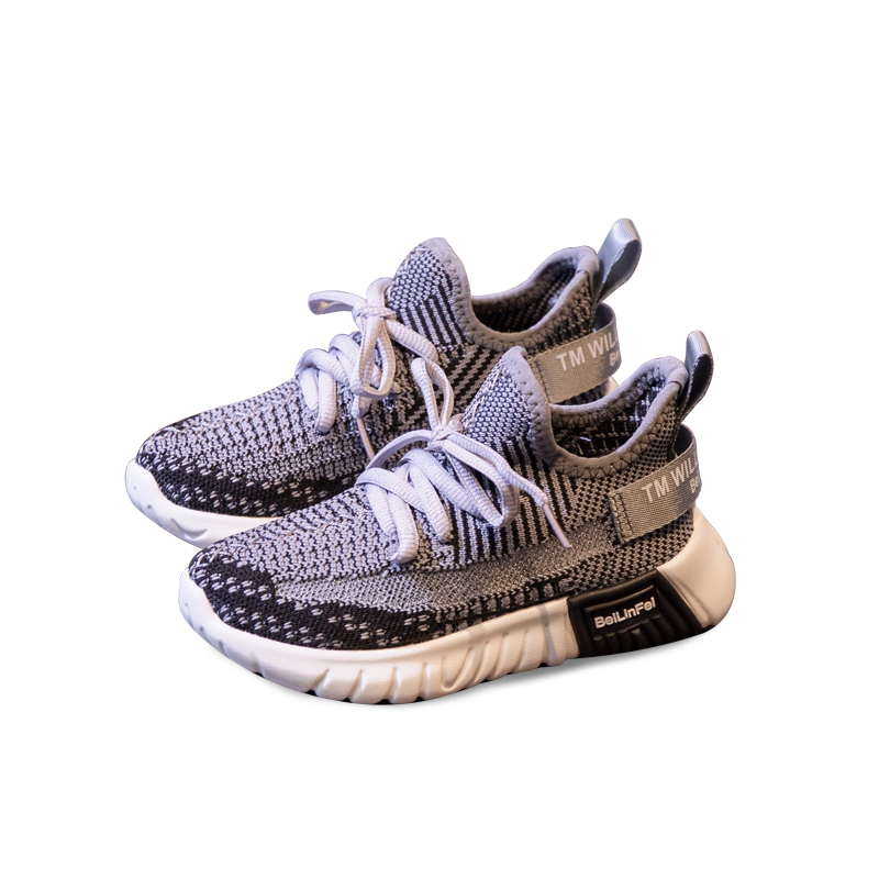 Unisex Baby Girls Sport Sneakers Children Mesh Shoes Boys Fashion Casual Shoes Soft Bottom Breathable Brand Trainers Flats Shoes