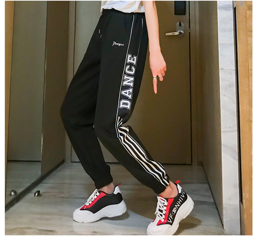 Casual Harem Pants hip hop fashion plus size S-2XL loose beam legs women's couple Harajuku pants dropshipping pantalon femme 40
