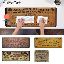 MaiYaCa New Arrivals Ouija Board Natural Rubber Gaming mousepad Desk Mat Rubber PC Computer Gaming mousepad maiyaca hot sales anime steins gate natural rubber gaming mousepad desk mat large lockedge mousepad laptop pc computer mouse pad