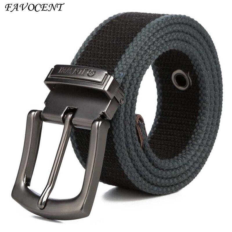 Hommes Armure Toile ceinture 2017 hommes d'entraînement taille ceinture Jeans Occasionnels Ceinture étudiant aiguille Boucle-Ceinture Mâle Allongé Tactique ceinture