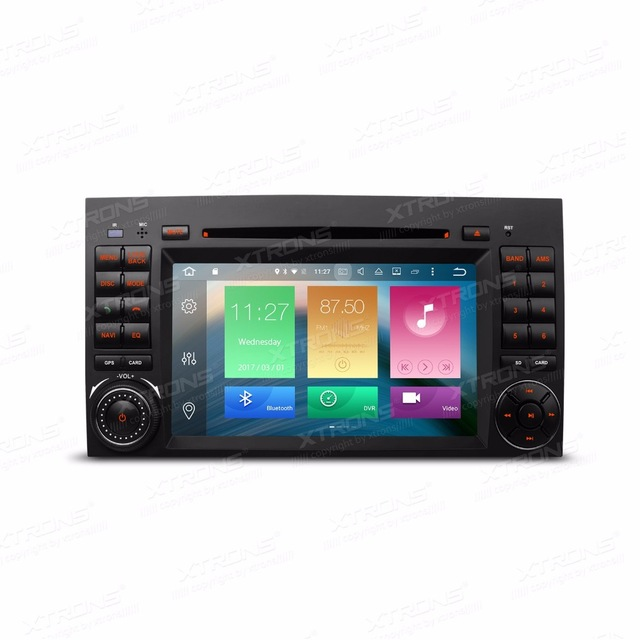 Android 6.0 OS 7&#8243;Octa-Core Car DVD radio for Mercedes-Benz A-Class W169 2004-2012&#038; Sprinter W906 2006-2012 with <font><b>2GB</b></font> <font><b>RAM</b></font> 32GB ROM