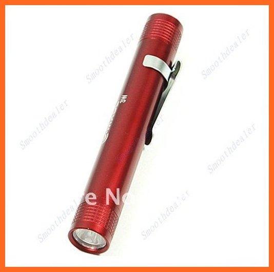 10pcs MXDL Portable Pocket Flashlight 100 Lumen LED Flashlight By 1*AAA Battery Waterproof Hiking Camping Fishing MIni Pen Torch