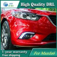 2 Pcs DRL For Mazda 6 Mazda6 Atenza 2013 2014 2015 LED DRL Daytime Running Lights