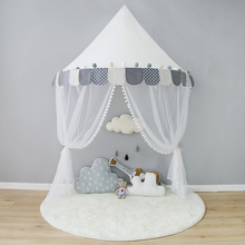 Children Tent Cotton Play For Kids Canopy Bed Curtains Baby Room Decoration Tipi Props Photography