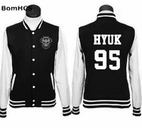 VIXX Sweatshirt Baseball Tops Blouses Cardigans Outerwear Coat Jackets Lover Jacket