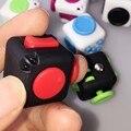 Nuevo Mini Fidget Cubo De Escritorio De Vinilo Llavero Juguete Fun Calmante para El estrés para Puzzles & Magic Regalo Juguetes Antiestrés y aficiones