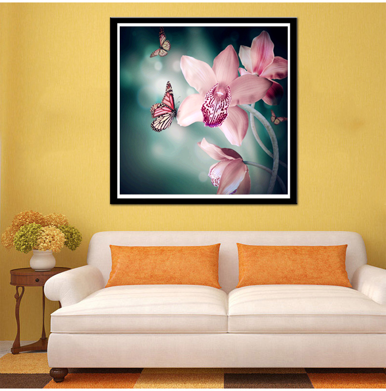 Flower arranging 5D DIY diamond Painting flowers Cross Stitch ...