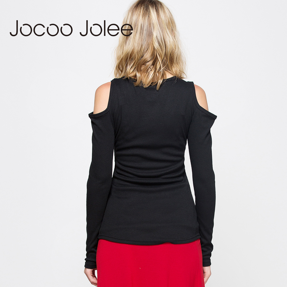 Tricou cu gât sexy cu jeane jolee criss cravate pentru femei sexy - Îmbrăcăminte femei - Fotografie 3