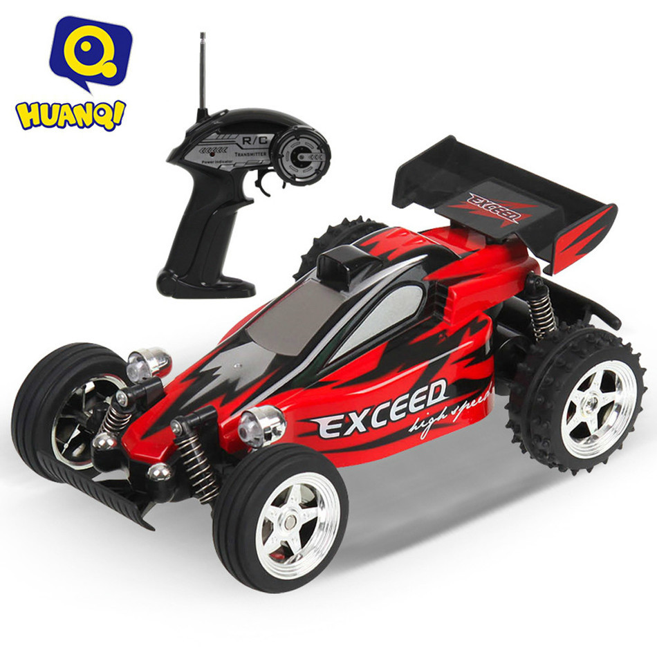 HUANQI 545 4CH 2WD High Speed High Power Motor High-tech Smart Tail Anti-skid 11.5KM/H Remote Control Crossing Car Vehicle Toy