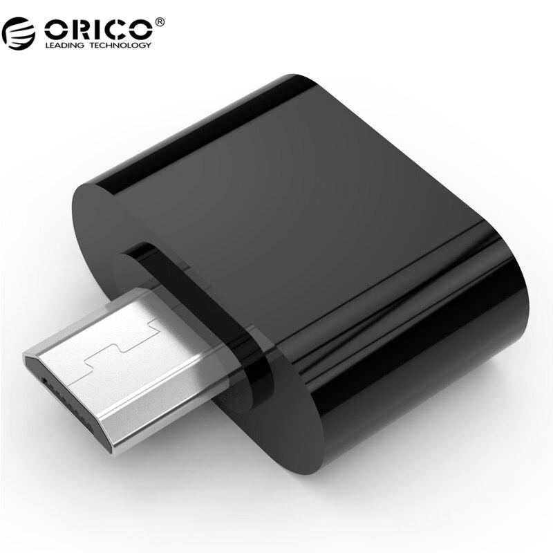 Orico micro usb zu usb otg adapter für android handy samsung htc...