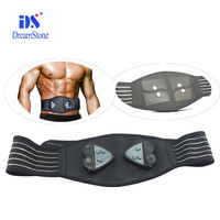 2017 Fitness health care products AB Slender massage belt ABS workout belt weight loss body building operated by batteries
