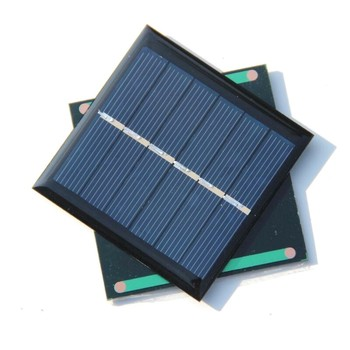 BUHESHUI Wholesale 3V 0.6w Mini Solar Cell Polycrystalline Solar Panel Solar Power Battery Charger Education 65*65MM  500pcs