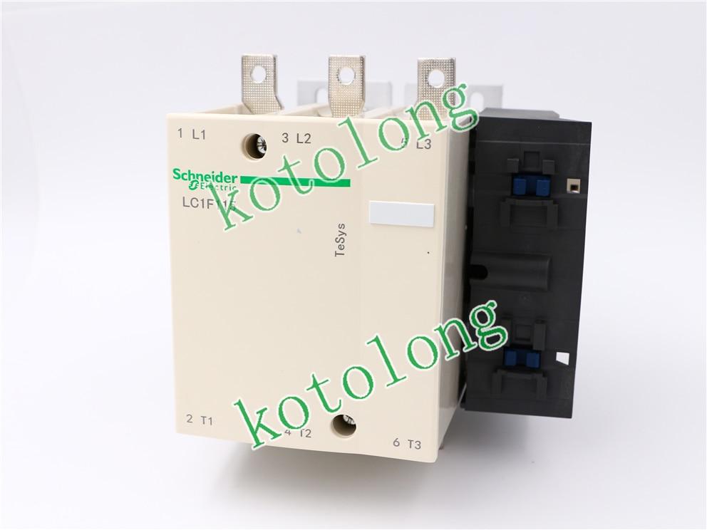 AC Contactor LC1F115 LC1-F115 LC1F115Q7 380V LC1F115R7 440V LC1F115U7 240V LC1F115V7 400V new lp2k series contactor lp2k06015 lp2k06015md lp2 k06015md 220v dc