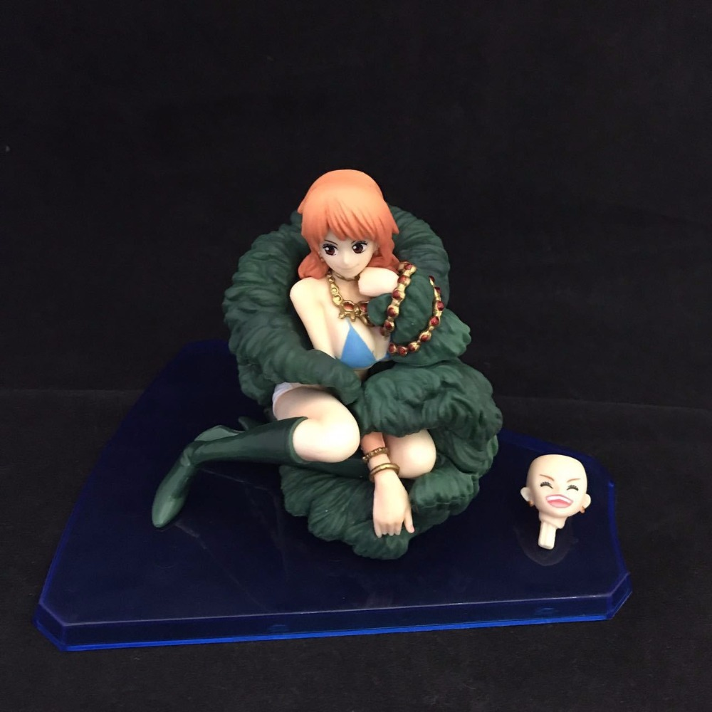 One Piece Anime 0th Anniversary Nami Sex PVC Action Figure Collectible Model Brinquedos Kids Toys Juguetes 8cm