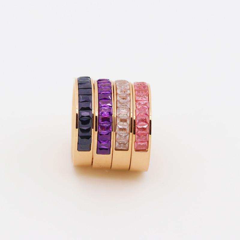 Вища якість титанова сталь 4 кольори - Модні прикраси - фото 5