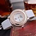 KEZZI Marca de Moda de Lujo Relojes Vestido de Las Mujeres Reloj de Cuero Correa de reloj de pulsera de Reloj Relojes Mujer Relojes Relogios Feminino