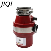 JIQI Food Waste Disposer Garbage Processor Disposal Crusher Stainless steel Grinder High sensitivity Kitchen Sink Appliance 560W