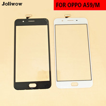 For OPPO A59 A59M  Touch Screen Glass Digitizer Sensor Touchpad Replacement Front Glass Touch Panel Touch Sensor gt1575 vnbd touchpad touch screen