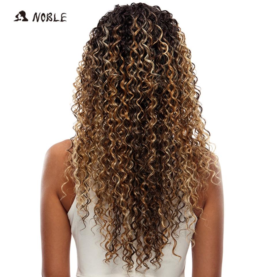 Ευγενείς Περούκες Για Μαύρες - Συνθετικά μαλλιά - Φωτογραφία 4