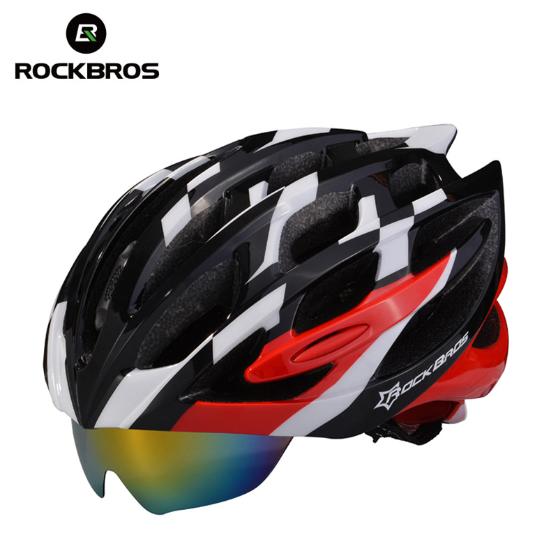 ROCKBROS Ultralight Hiking Mountain Helmet Climbing MTB Bike Cycing Helmets Breathable Glasses UV Protection Outdoor Safety Head topeak outdoor sports cycling photochromic sun glasses bicycle sunglasses mtb nxt lenses glasses eyewear goggles 3 colors