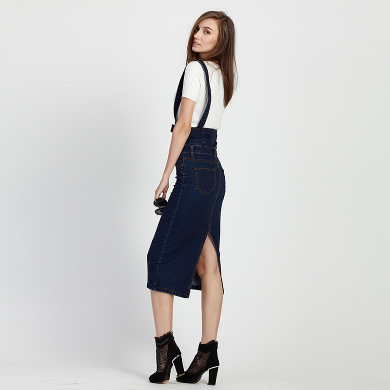 574894bbc9f 2016 Summer Style Loose Sweet Jeans Dress Women Washed Suspender Denim  Sundress Denim Overall Dress Color Blue For 40 200KG Wear-in Dresses from  Women s ...